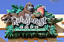 Rainforest Cafe Sawgrass Mall Where To Park