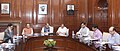 Rajnath Singh chairing a meeting of the High Level Committee for Central Assistance to States affected by the Natural Disasters, in New Delhi. The Union Minister for Finance, Corporate Affairs and Information & Broadcasting.jpg