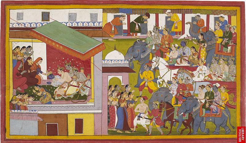 File: Rama returns to Ayodhya.jpg