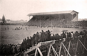 Camp Randall Stadium - Randall Field in 1904, prior to stadium construction