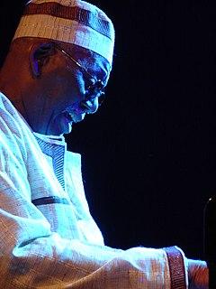 Randy Weston American jazz pianist