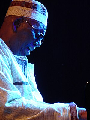 Jazz pianist Randy Weston