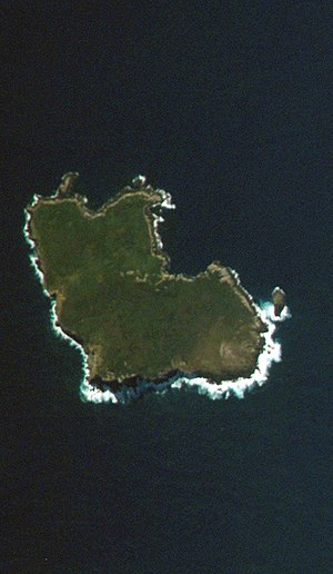 NASA-Bild von South East Island