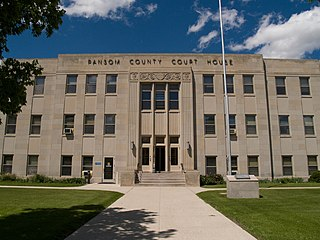 Ransom County, North Dakota County in the United States