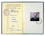 Raoul Wallenberg's diplomatic passport 001.jpg