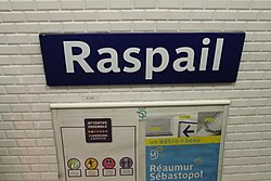 Raspail (Métro Paris)