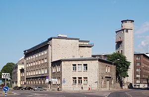 Estonian Firefighting Museum - Image: Raua tn tuletõrjehoone
