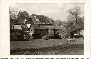 Markovec - 1938 postcard of Markovec