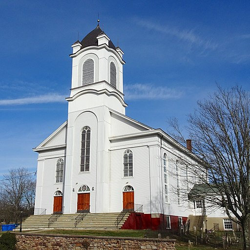 Readington Reformed Church, south view
