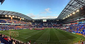 Red Bull Arena (New Jersey) - The stadium before a match between the Red Bulls and Montreal Impact.