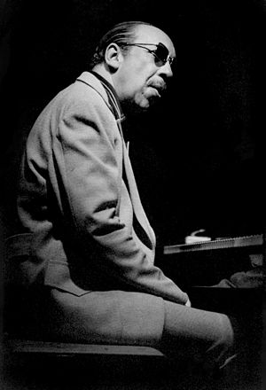 Red Garland - Garland at Keystone Korner jazz club, San Francisco, California, May 1978