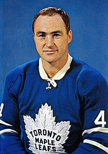 Red Kelly Canadian ice hockey defenceman