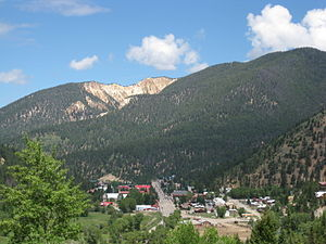 Red River, New Mexico - The town of Red River, New Mexico