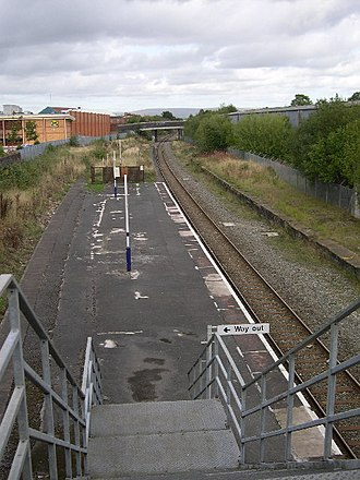 Reddish South railway station - Image: Reddish South Railway Station