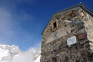 italian mountain hut