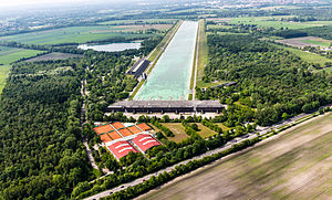 Oberschleißheim Regatta Course - Regattastrecke Oberschleißheim near Munich in Germany