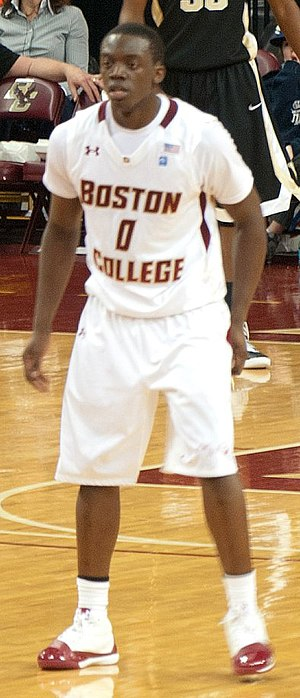Reggie Jackson (basketball, born 1990) - Jackson with Boston College