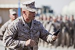 Relief and Appointment, CLR-2 welcomes Marines, sergeant major 130725-M-KS710-073.jpg