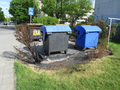 Remains of torched trash containers.png