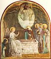 Resurrection of Christ and Women at the Tomb by Fra Angelico (San Marco cell 8).jpg