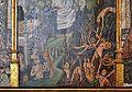 Retaule d'Ànimes i missa de sant Gregori (detall de l'infern), atribuït al Mestre de Perea, museu catedralici de Sogorb.JPG