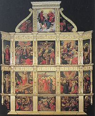 Altarpiece of the Chapel of the Blessed Sacrament
