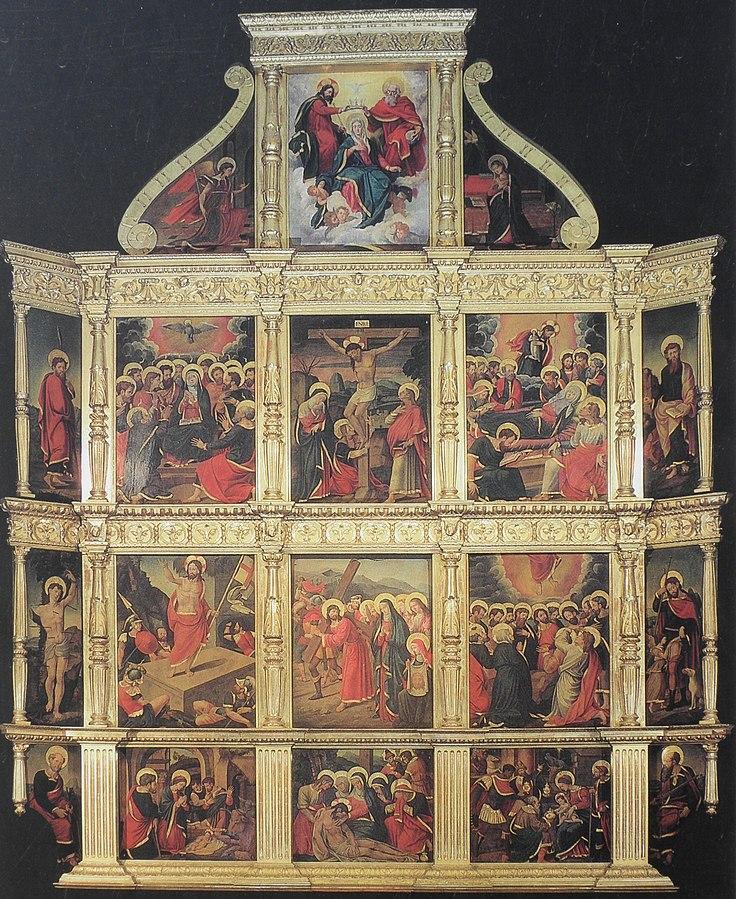 Retaule de la capella del Santíssim (El Miracle)