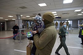 Returning of Ukrainian women and children from Syrian refugee camp 06.jpg