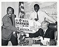 Reverend O'Neil Shannon, perennial marathon runner, calls on Mayor John F. Collins to inform him that he will be at the starting line April 19th again (13848702683).jpg