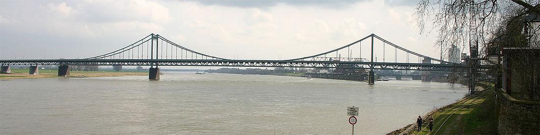 Панорама моста Крефельд–Юрдинген