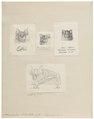 Rhinolophus bihastatus - 1700-1880 - Print - Iconographia Zoologica - Special Collections University of Amsterdam - UBA01 IZ20700149.tif