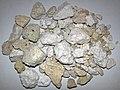 Rhyolitic pumice (El Cajete Pumice Bed, Upper Pleistocene, 55-60 ka; Rt. 4 roadcut, Valles Caldera, New Mexico, USA) 4.jpg