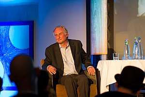 Photo of Richard Dawkins at QED 2013