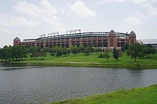 Globe Life Park in Arlington Stadium in Arlington, TX, US