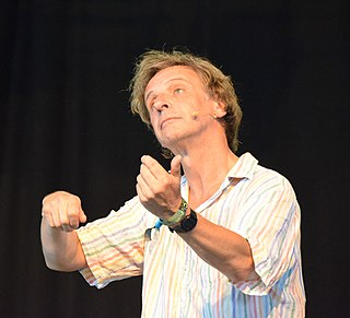 Richard Vranch English comedian and musician