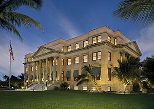 Richard and Pat Johnson Palm Beach County History Museum - Pat Johnson Palm Beach County History Museum in the 1916 Palm Beach County Courthouse