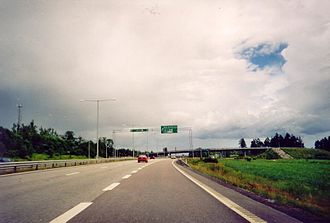 European route E16 - Image: Riksvag 80 Vaster Gavle