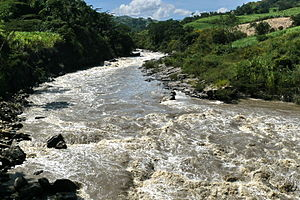 Suárez River - Suárez River close to Barbosa
