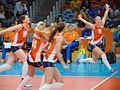 Rio 2016 - Women's volleyball 14 August (28835200843).jpg