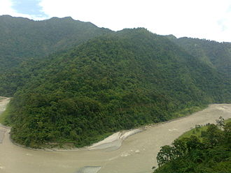 Gangtok - River Teesta is the lifeline of Gangtok