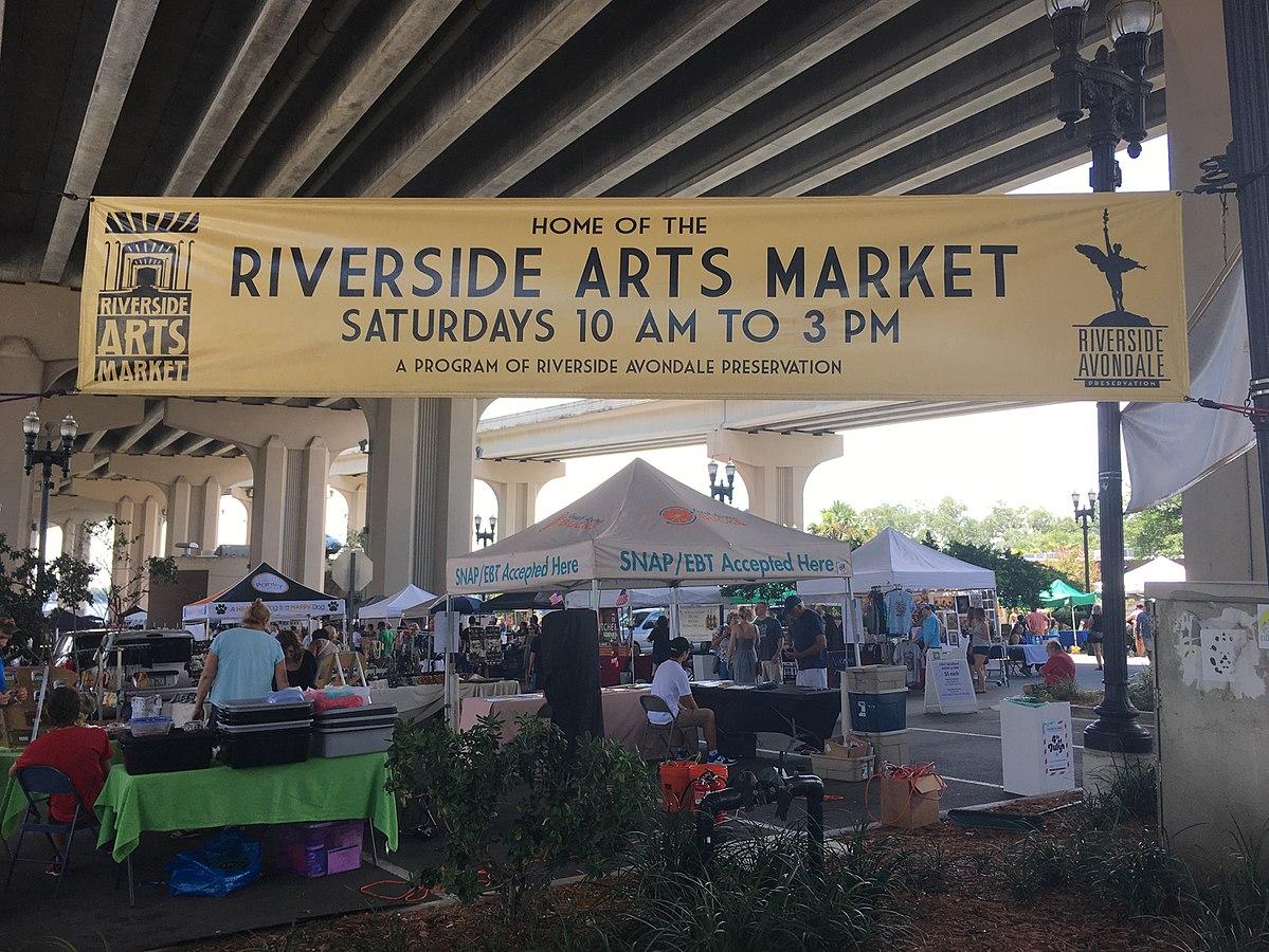 Riverside arts market wikipedia for The riverside