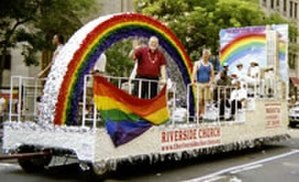 Riverside Church - Riverside's Pride Parade Float