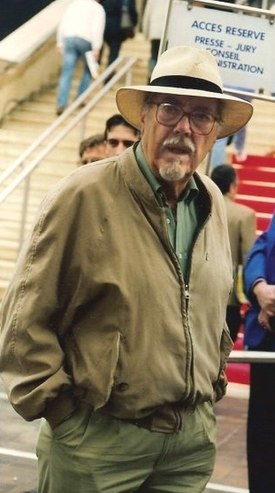 Robert Altman en Cannes, 1992.