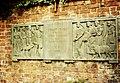 Robert Owen Memorial Plaque, Newtown Powys July 1985 (4325364411).jpg