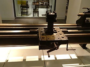 Richard Roberts (engineer) - Image: Roberts lathe at Science Museum 03
