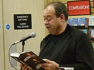 Rob Grant - Grant at a book signing.