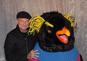 Happy Feet Two - Robin Williams, who voiced Ramon and Lovelace, at the film's Australian premiere in Sydney