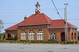 Rock Island Lines Passenger Station (Rock Island, Illinois) - Image: Rock Island RI station