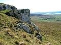 Rock Outcrop on Ben Gorm - geograph.org.uk - 417450.jpg