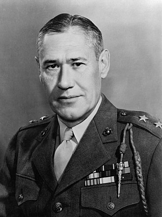 Battle of Iwo Jima - Maj. Gen. Keller Rockey
